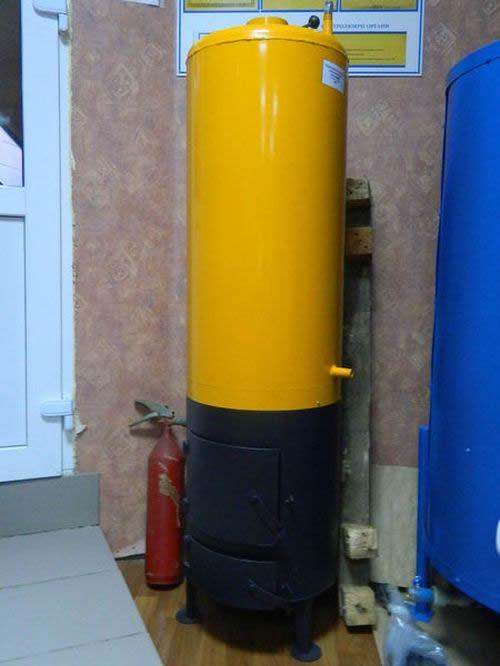 Бойлер для нагрева воды дровами- Бойлер на дровах,дровяной водонагреватель
