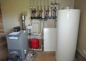 Твердотопливное отопление частного дома своими руками