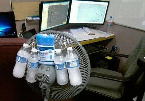 Такое устройство легко смастерить даже в офисе